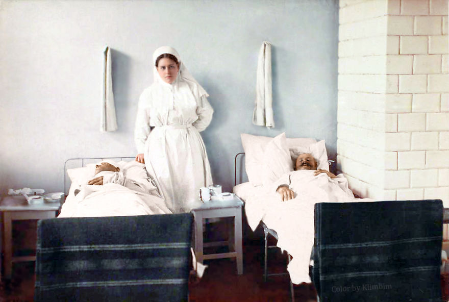 Nurse, 1914-1916