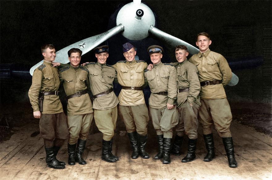 102nd Guards Fighter Aviation Regiment, 1943