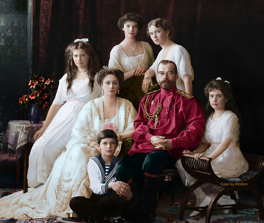 Family Nicholas Ii Of Russia, 1914
