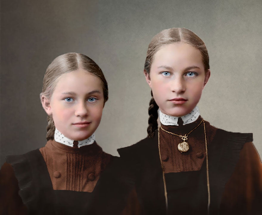 Gymnasium Girls, Imperial Russia, 1900-1917
