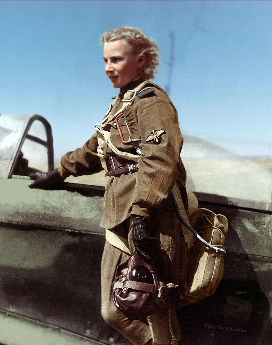 Lydia Litvyak During The World War I, 1941