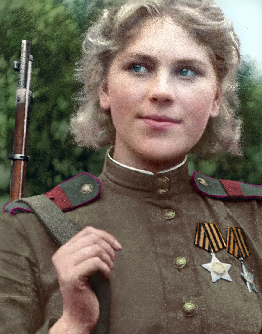 Russian Sniper Roza Shanina