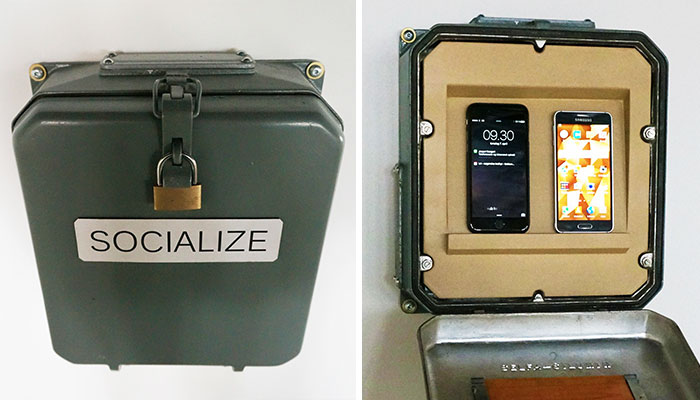 Socialize: I Designed A Box To Lock Your Smartphones