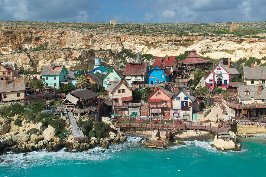 popeye village malta how to get there