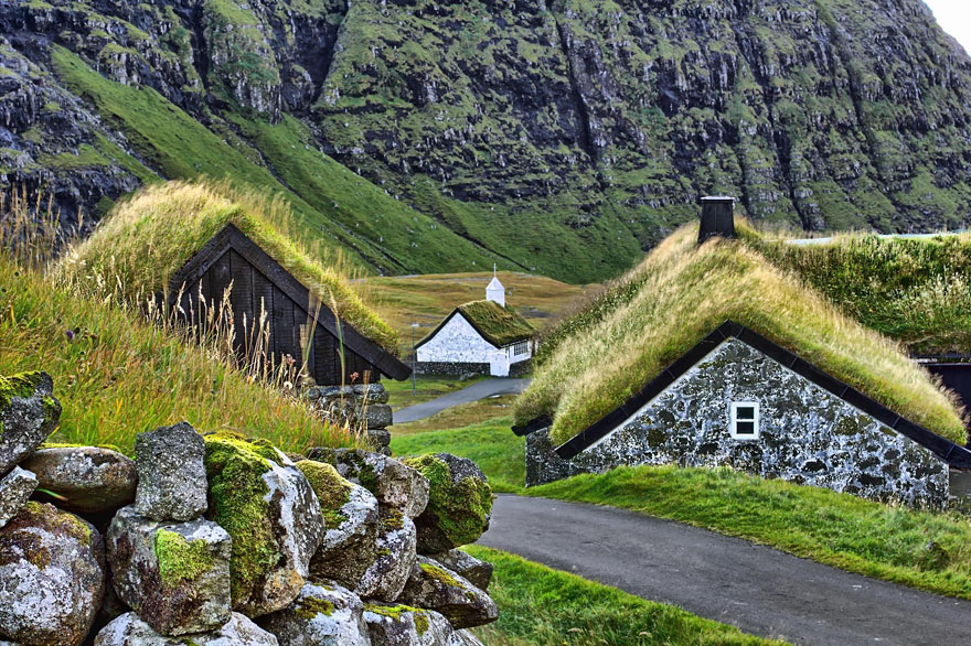 Gasadalur, Faroe Islands