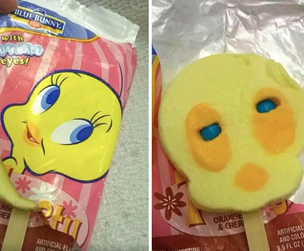 Remember The Ice Cream That Was Supposed To Look Like Cartoon Characters?