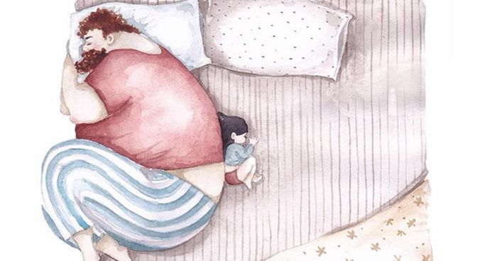 7fa67fa4191 Heartwarming Illustrations About The Love Between Dads And Their Little  Girls