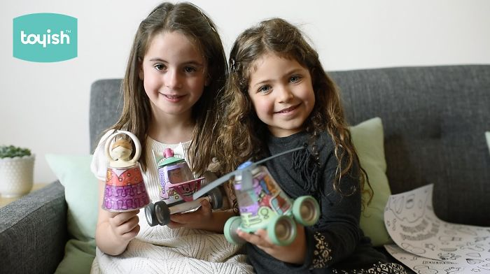 I Invented Toyish, One Of A Kind Toys To Boost Kids' Creativity.