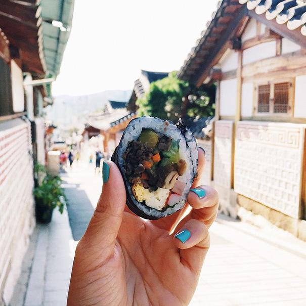 Kimbap, Korea