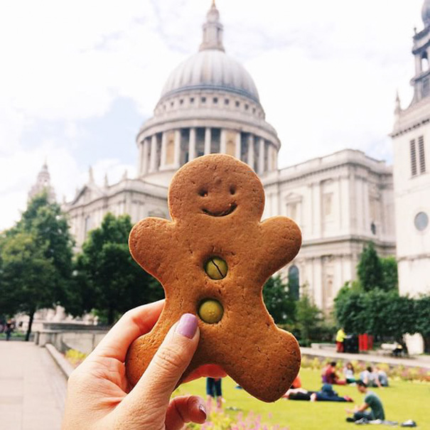 Gingerbread Man, United Kingdom
