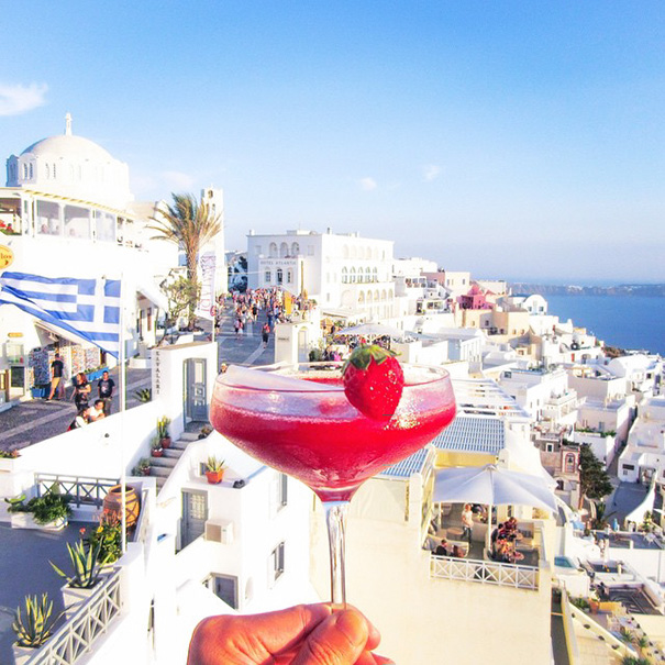 Strawberry Daiquiri, Greece