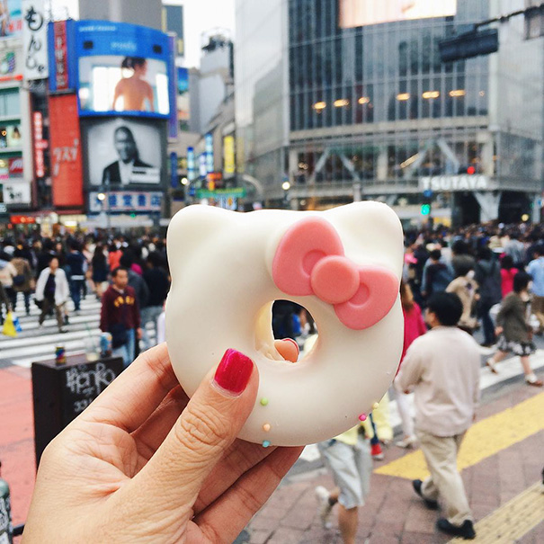 Hello Kitty Donut, Japan
