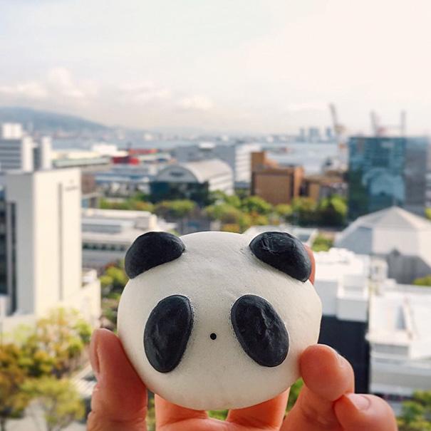 Panda-Bun, Japan