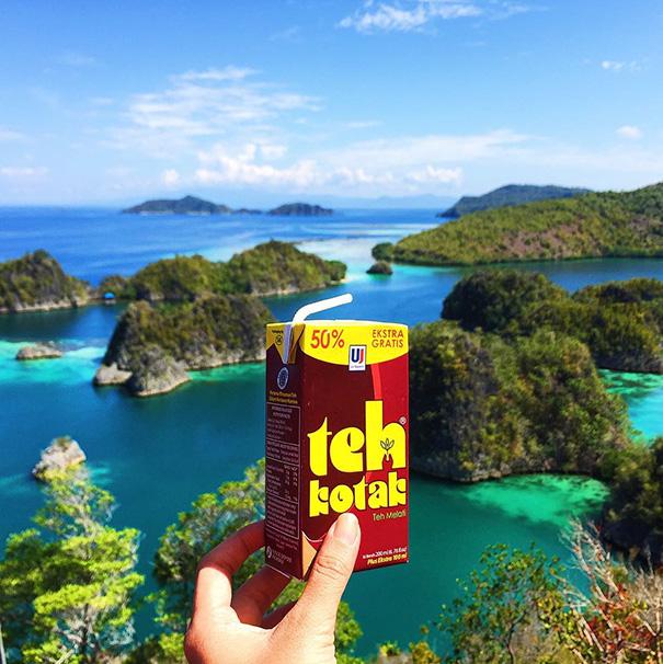 Teh Kotak, Indonesia