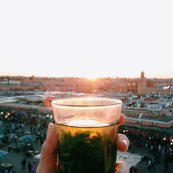 Thé à La Menthe (Mint Tea), Morocco