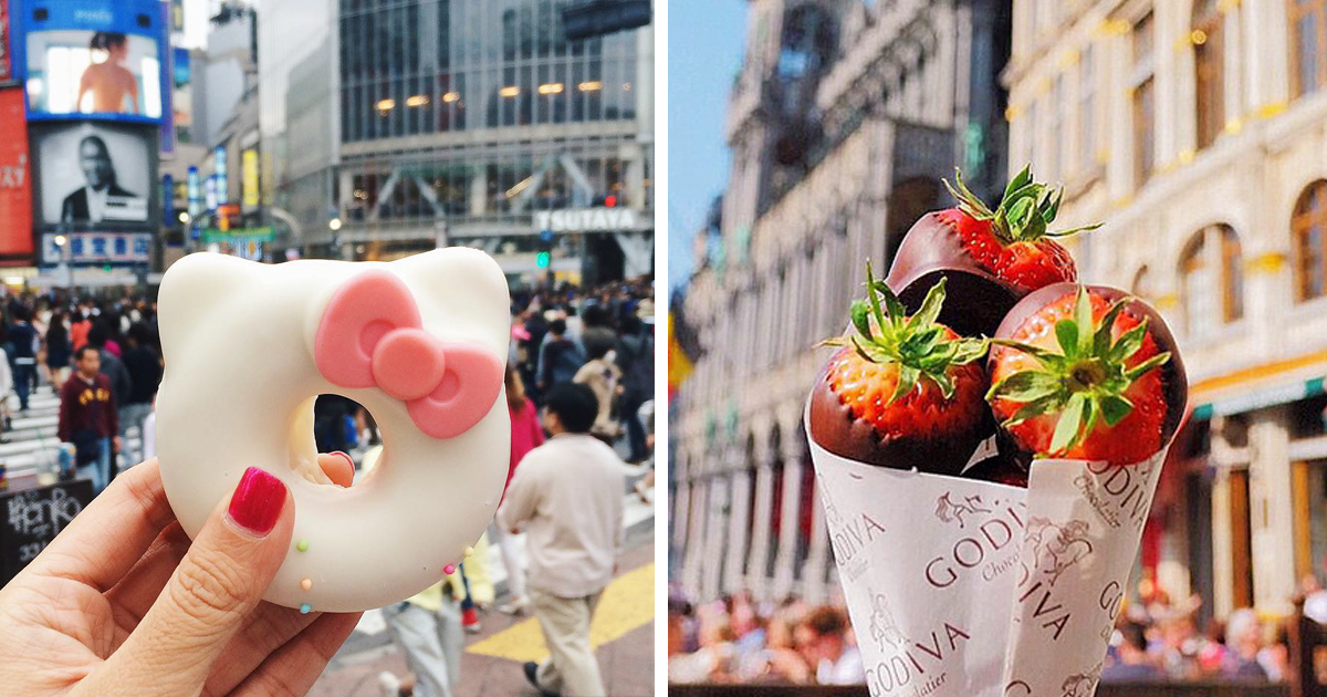 """Girl Eat World"" Instagram Features The Tastiest Street Food From Around The World"