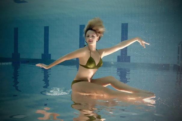 Eloise Amberger - Australian Synchronised Swimmer