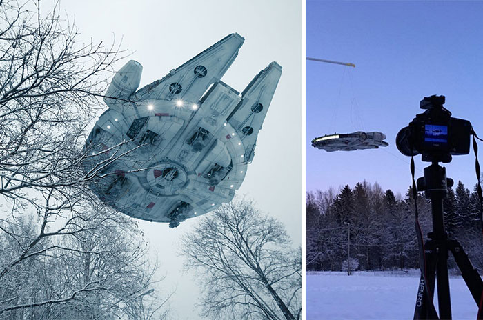Artist Creates Stunning Star Wars Photos Using Toys And Forced Perspective