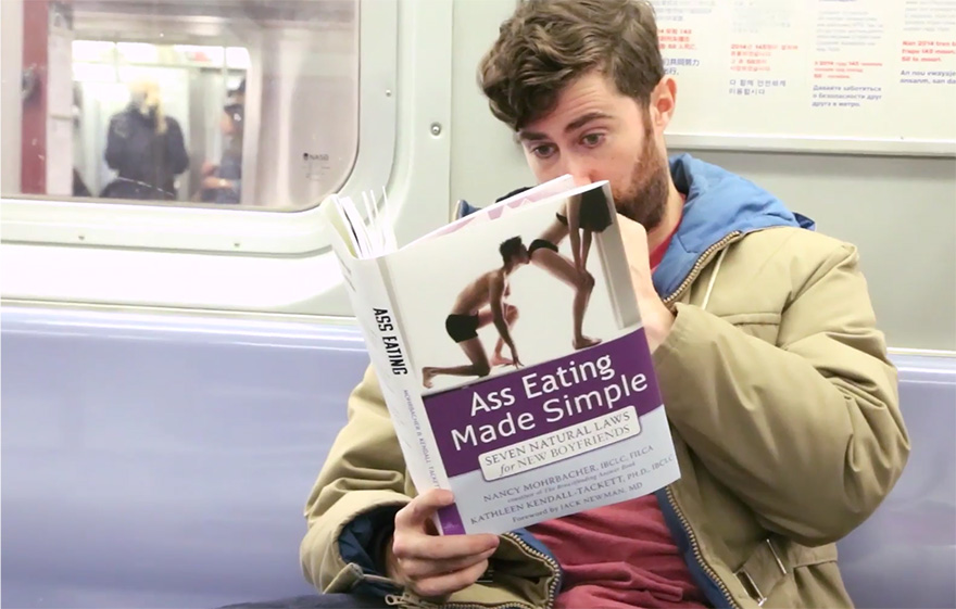 Ass eating tube