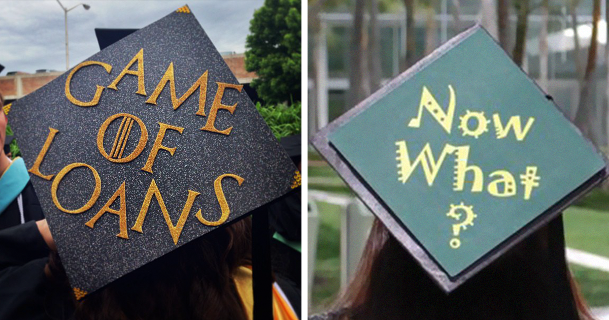 72 funny graduation cap owners who will go far in life bored panda