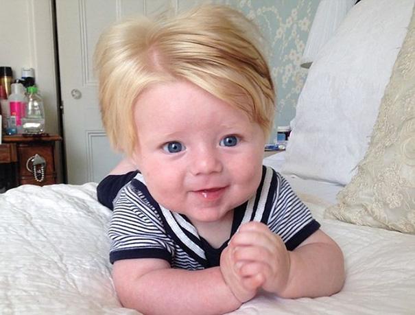 Little Freddie In His Sailor Man Look