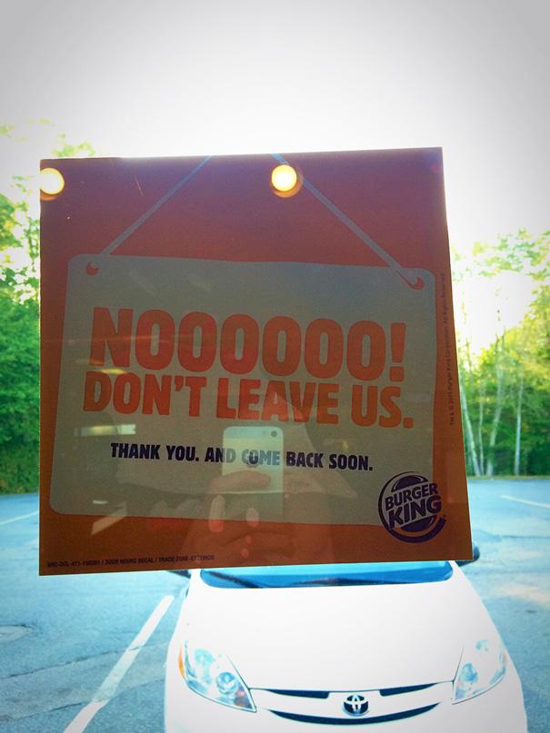 I've Been Stuck In This Burger King For Twelve Hours