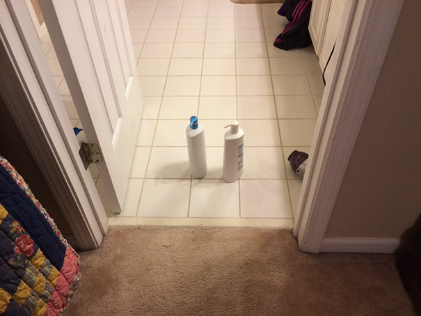 I Did Say To Put These In The Bathroom. There Is Nothing Like Having A Literal 2nd Grader Living In Your House