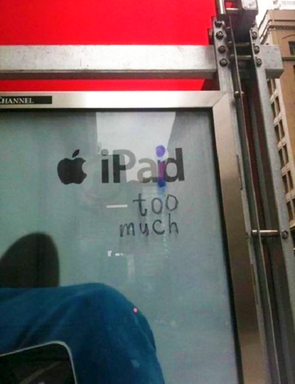 Advertisement Hacker Don't Like Apple