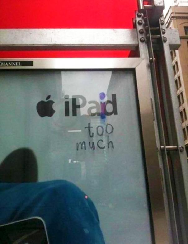 Advertisement Hacker Don't Like Apple