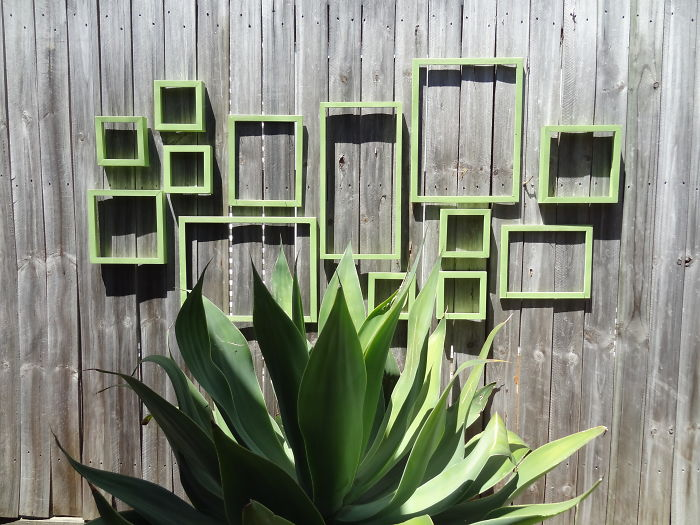Frame Garden Fence Decor