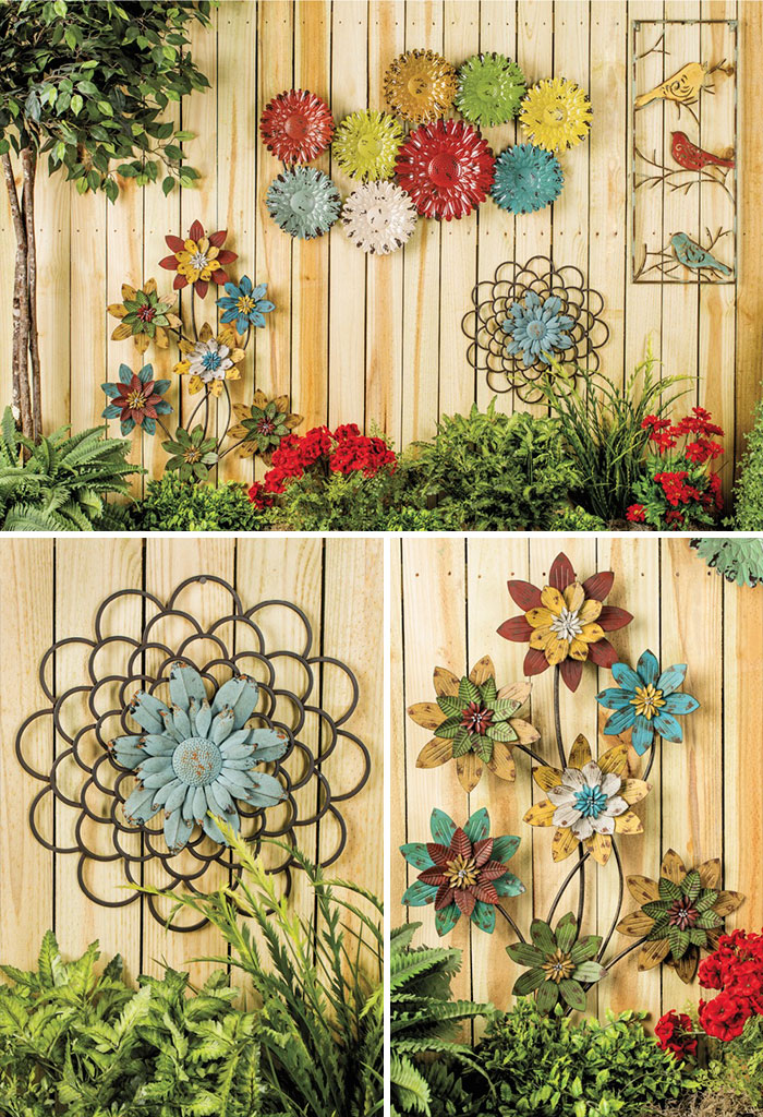 Flower Decorated Fence