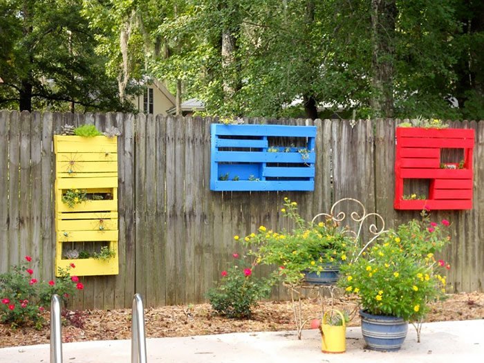 Panel Shelf Fence Decor
