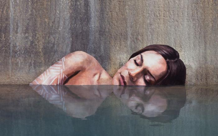 Street Artists Show Their Talent Through Hyper-Realistic Urban Murals