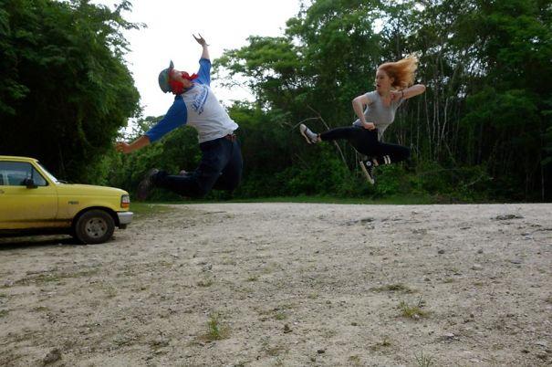 'unbelizeable' La Milpa, Belize:trap