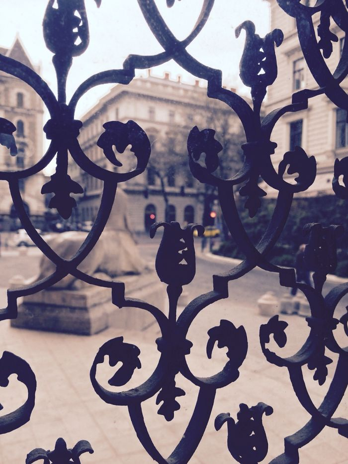 View From One Of The Hungarian State Opera's Offices In Budapest.