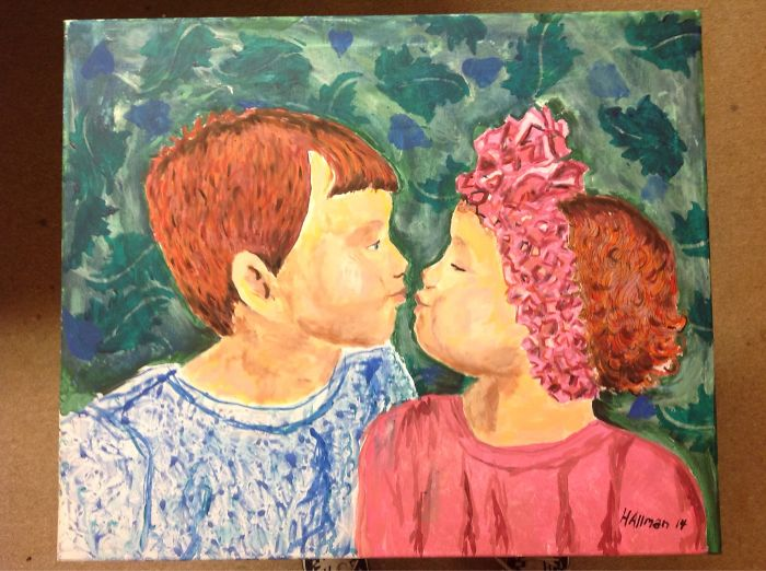 I Love To Paint My Family.