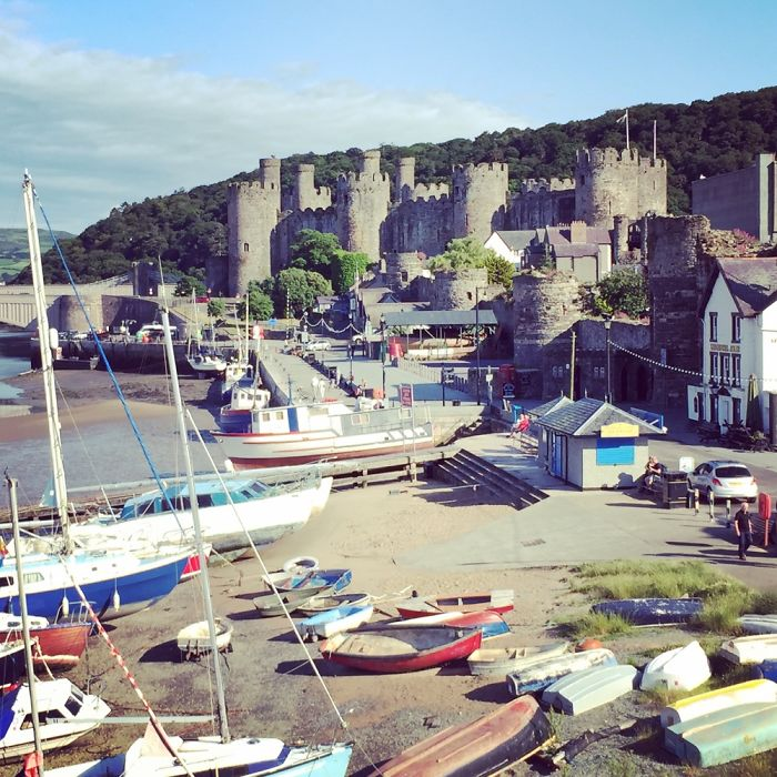 Conwy. Wales