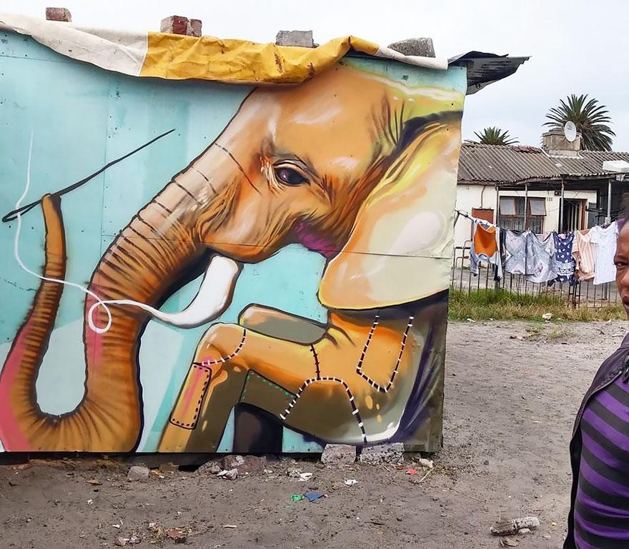 interactive-elephant-street-art-falco-one-south-africa-7