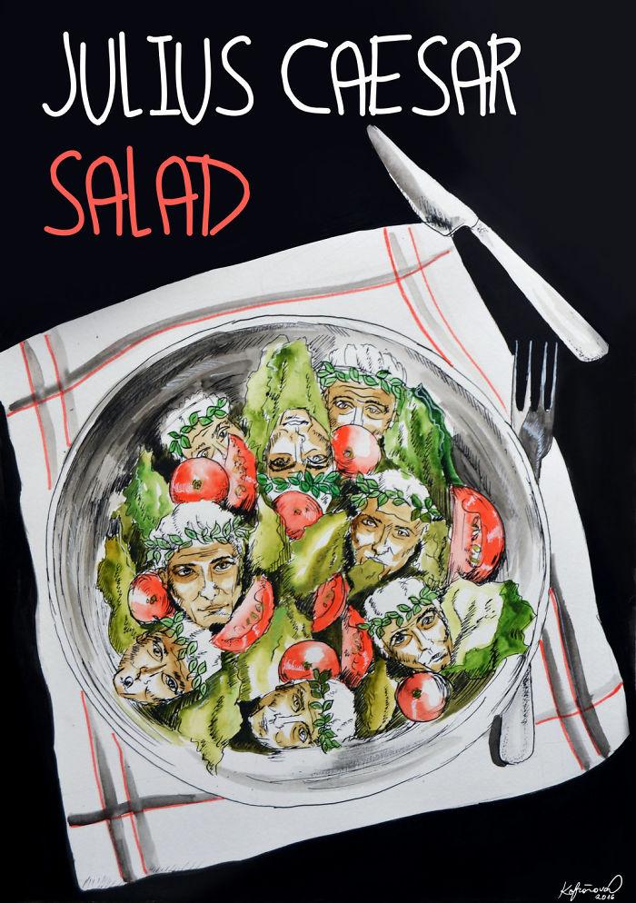 Julius Caesar Salad