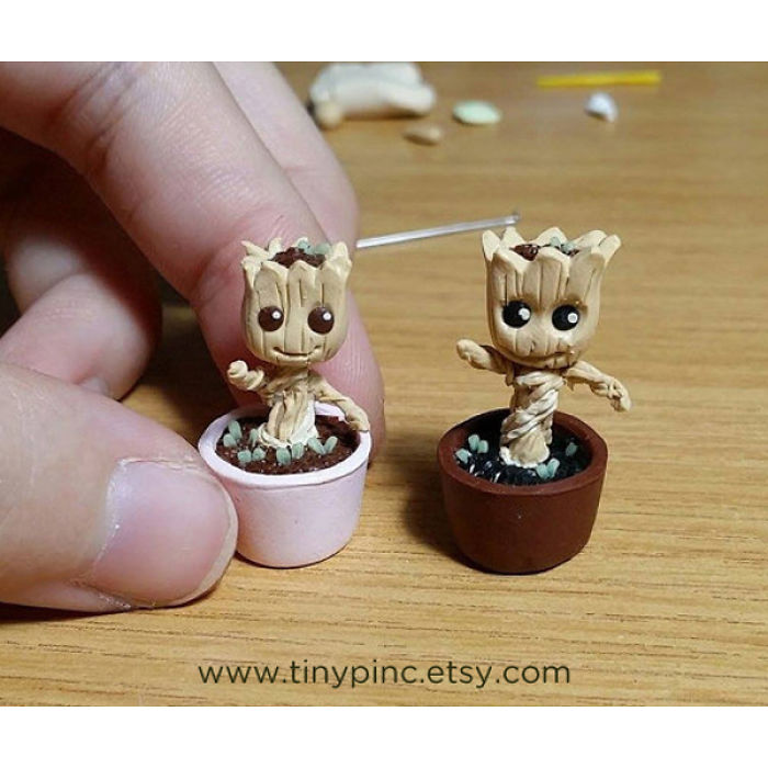 Miniature Babygroot Omg