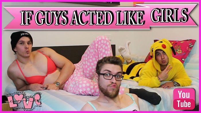 What Would Be The World If Guys Acted Like Teenage Girls? We Tried And The Result Is Hilarious!