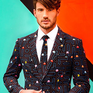 Pac-Man Suit Takes A Bite Out Of Corporate Fashion