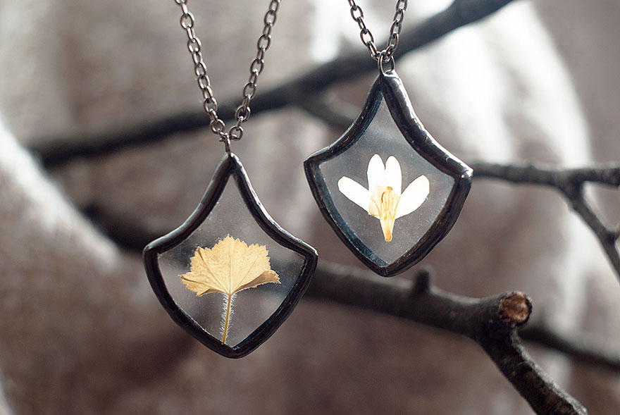 pressed-flower-leaf-jewelry-stained-glass-wwheart-5