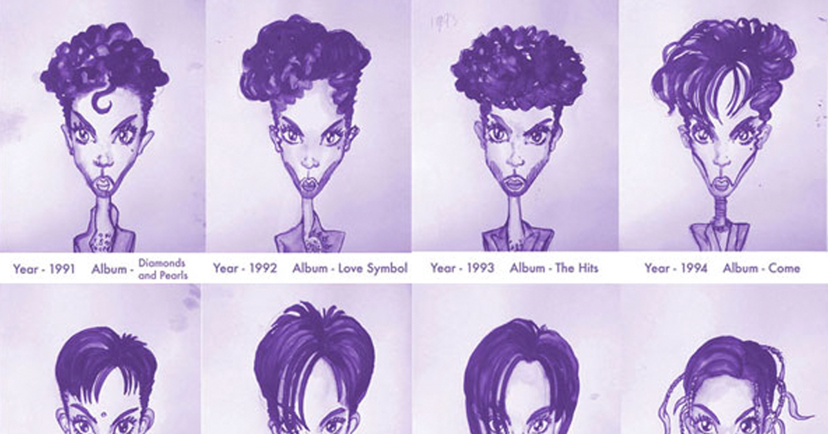 Princes Hair Styles From 1978 To 2013 Bored Panda