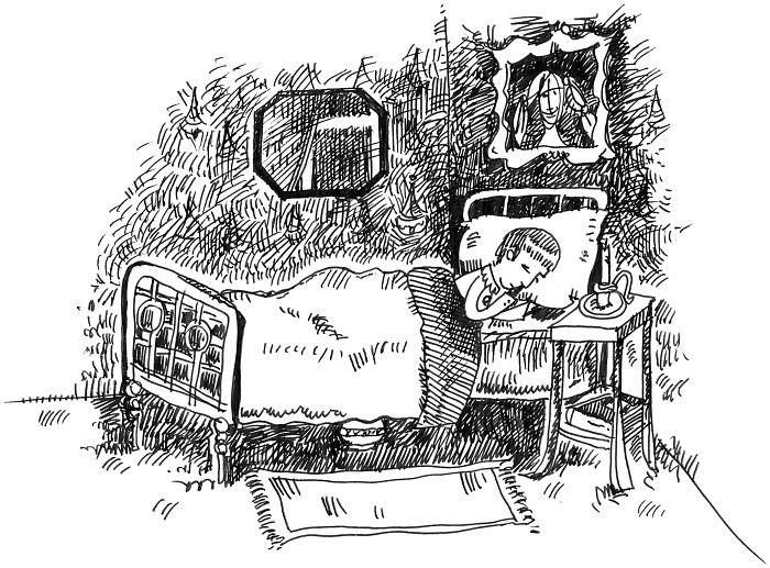 "I Illustrated Marcel Proust ""À La Recherce Du Temps Perdu"" Main Scenes"