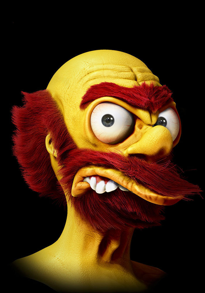 Groundskeeper Willie From The Simpsons