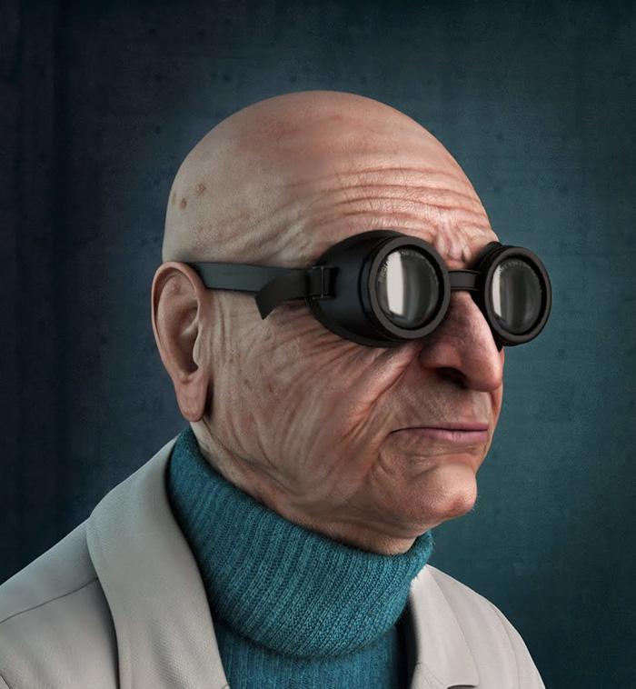 Professor Hubert J. Farnsworth From Futurama