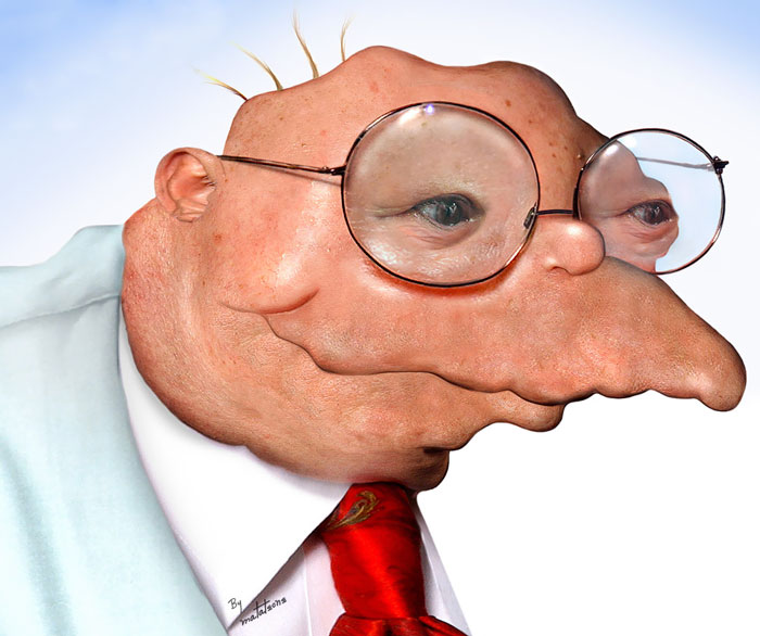 Hans Moleman From The Simpsons