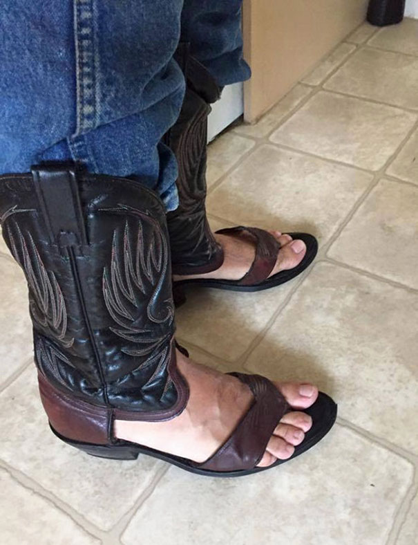 Cowboy Boot Sandals Is The Newest Trend That Keeps Your Toes Cool ...