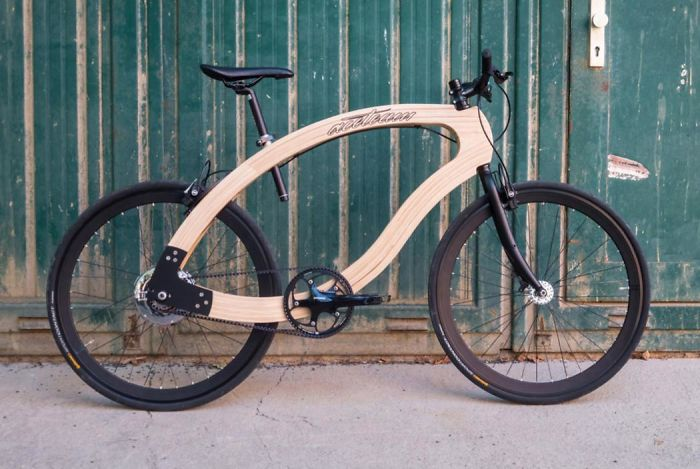I Have Found This Awesome Wooden E-bike!